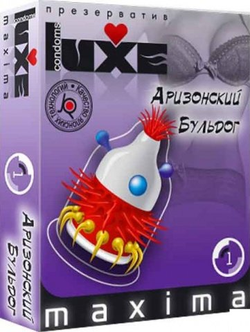 Luxe maxima 1 презервативы аризонский бульдог, фото 2