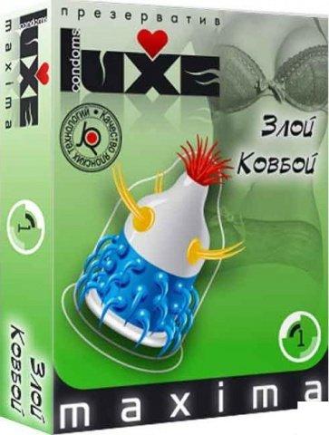 Luxe maxima 1 презервативы злой ковбой, фото 3