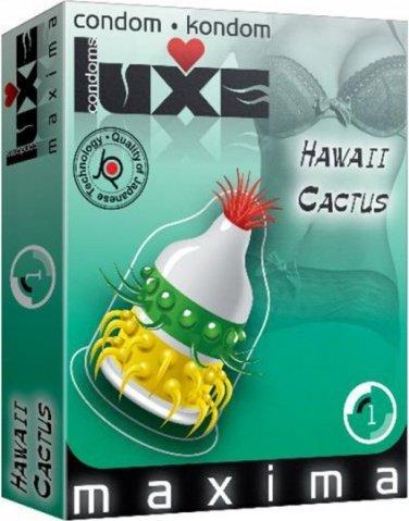 Luxe maxima 1 презервативы гавайский кактус, фото 2