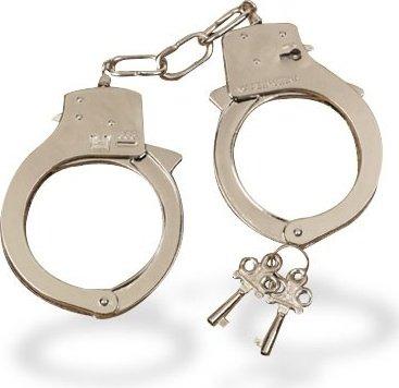 Металлические наручники Hand Cuffs, фото 4