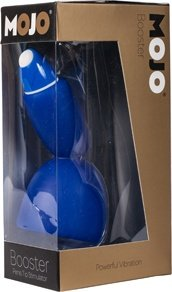 Многофункциональный стимулятор mojo booster для головки полового члена и клитора синий