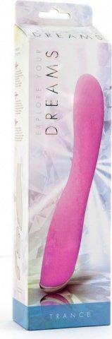 Вибратор Trance, 7 режимов вибрации, 16,5 см, розовый, фото 3