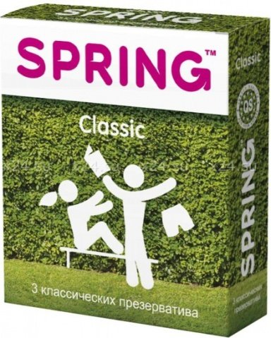 Презервативы spring (классические) 3 шт