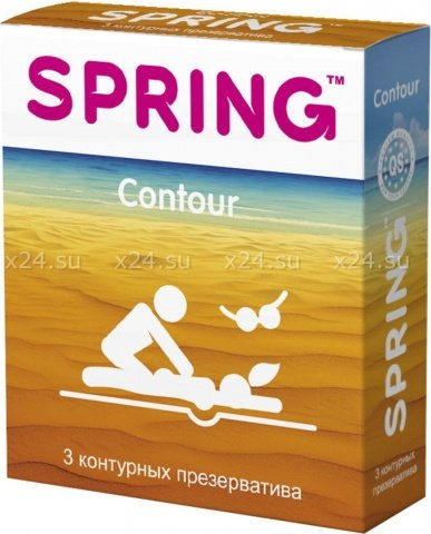 Презервативы spring (контурные) 3 шт