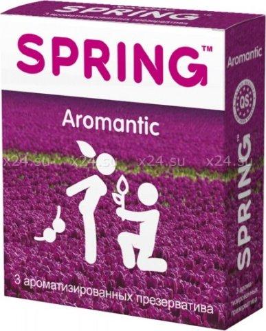 Презервативы spring (ароматизированные) 3 шт