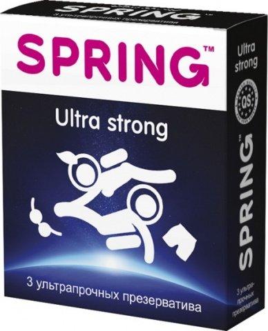 Презервативы Spring Ultra Strong ультрапрочные 1 блок (12 уп)