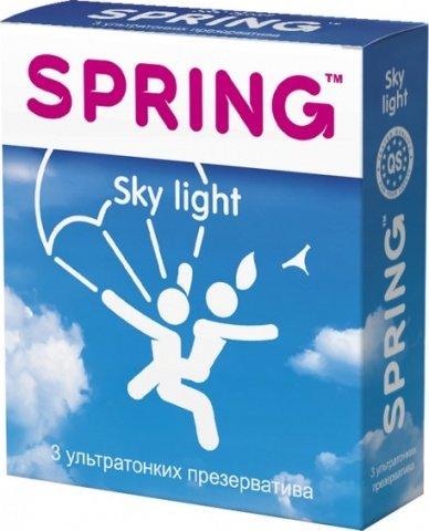 Презервативы Spring Sky Light ультратонкие 1 блок (12 уп)