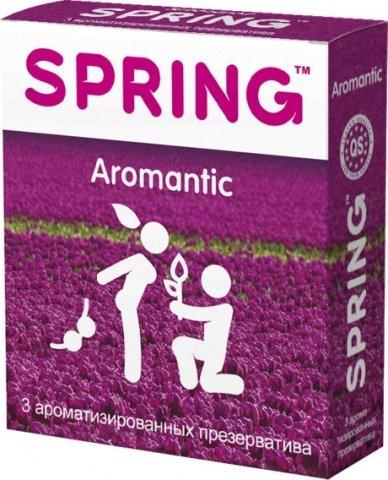 Презервативы Spring Aromantic ароматизированные 1 блок (12 уп)