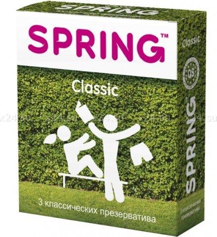 Презервативы spring classic - классические,