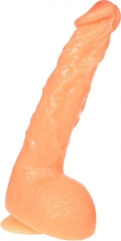 Фаллоимитатор на присоске 17 см