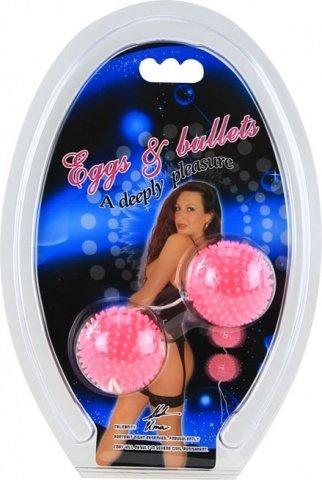Анальная шарики розовые, фото 2