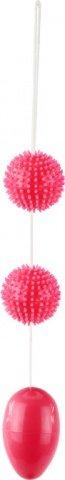 Анальная шарики розовые