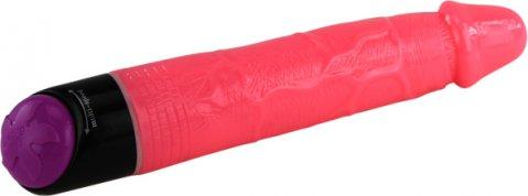 Вибратор розовый 19 см, фото 2