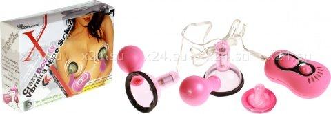 Присоски - вибромассажеры для сосков груди, фото 2