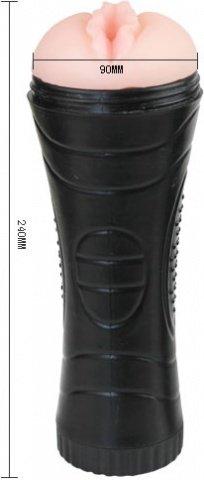 Мастурбатор - вагина в тубе без вибратора 24 см, фото 2