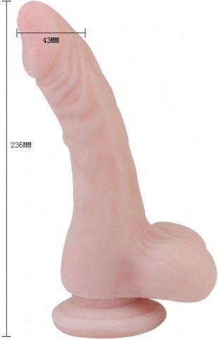 Загнутый фаллоимитатор 23 см, фото 3