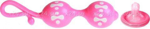 Шарики вагинальные розовые Orgasmic, фото 2