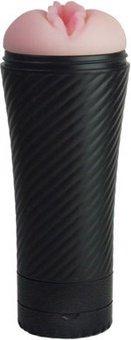Вагина реалистик с многоуровневой вибрацией 23 см, фото 3