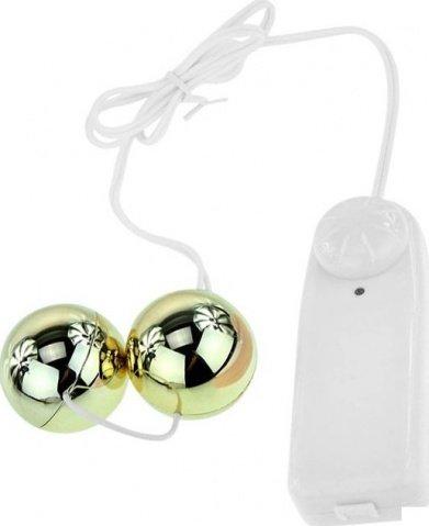 Шарики с вибрацией Goden Balls, фото 3