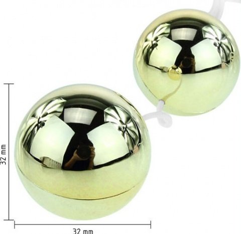 Шарики с вибрацией Goden Balls, фото 4