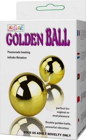 Шарики с вибрацией Goden Balls, фото 5