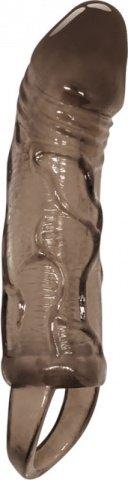 Стимулирующая насадка на пенис с внутренней вибрацией Men Extension 19 см, фото 3