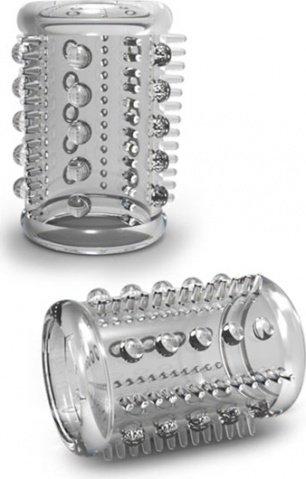 T330219 Клиторальный стимулятор-насадка