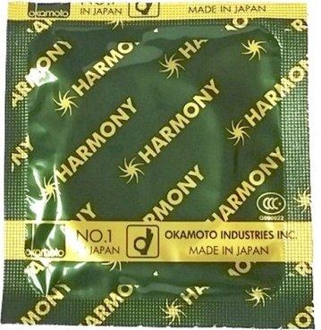 Презервативы Окамото Harmony Ребристые 12/12, фото 3