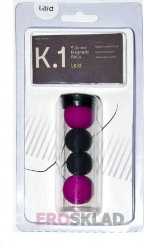 Магнитные шарики Laid - K. 1 Silicone Magnetic Balls, фото 4