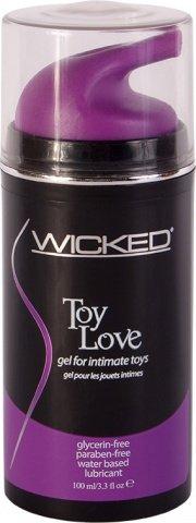 Лубрикант для игрушек wicked toy love 100 мл