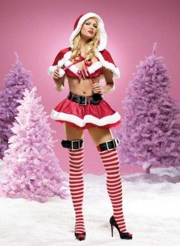 Костюм Миссис Санта Клаус, размер L