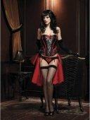 Изысканная юбка турнюр, цвет Красно черный | Юбки | Секс-шоп Мир Оргазма