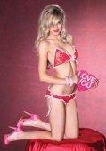 Кружевное бикини размер 81332 | Комплекты эротичного белья | Секс-шоп Мир Оргазма