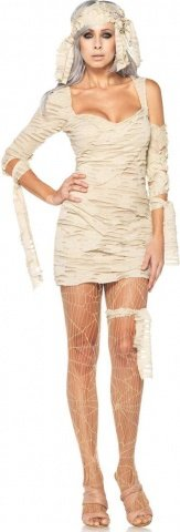 Карнавальный костюм Мумия цвет Белый, размер M/L