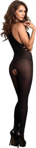 Комбинезон Eyelash Lace Bodystocking (Leg Avenue), цвет Черный, размер One Size, фото 2