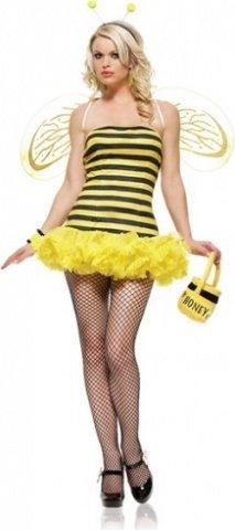 Костюм пчелки цвет Желтый, размер XS