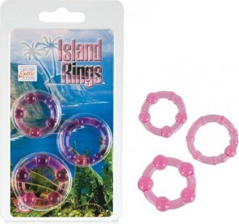 �������� �� 3-� ����������� ����� Island Rings - Pink, ���� 4