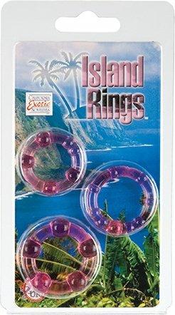�������� �� 3-� ����������� ����� Island Rings - Pink, ���� 5