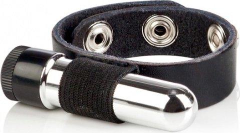 Кожаное кольцо с вибрацией colt, фото 4