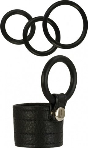 Adonis zeus leather cockring 1367-50bxse