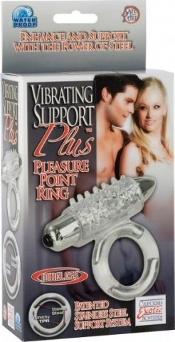 Виброкольцо support plus pleasure point 1466-10bxse, фото 5