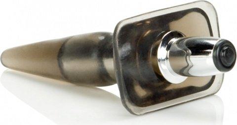 Анальная пробка High Intensity Vibro Tease с вибрацией черная, фото 5