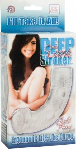 Прозрачный мастурбатор deep curve stroker tight pussy 0956-10bxse, фото 9