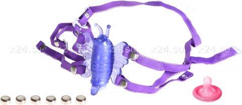 Клиторальная вибро-бабочка venus butterfly (3 скорости) 9 см, фото 4