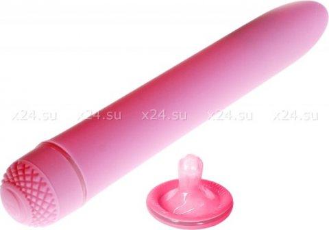 Классический розовый вибратор first time se-0004-08-2