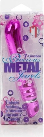 Вибратор 7-function precious metal jewels pink 0500-95bxse, фото 3