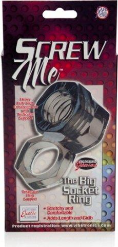 Кольцо screw me the big socket ring 1475-40bxse, фото 4