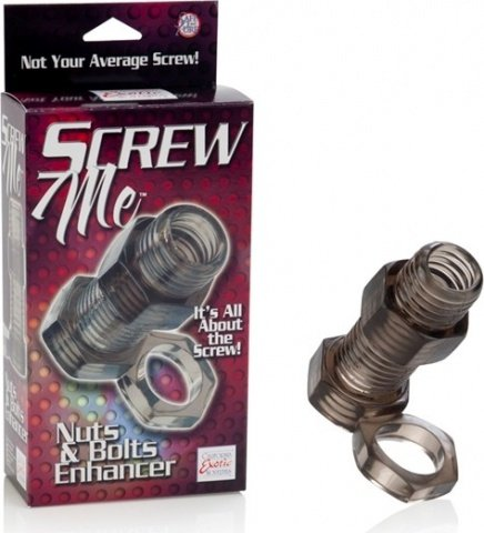 Кольцо screw me nuts & bolts 2 enhancer 1475-50bxse