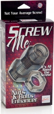 Кольцо screw me nuts & bolts 2 enhancer 1475-50bxse, фото 3