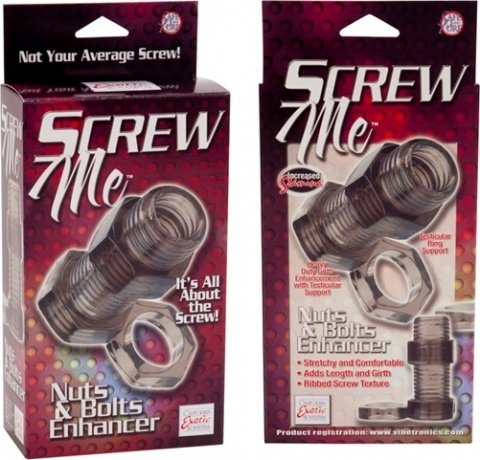 Кольцо screw me nuts & bolts 2 enhancer 1475-50bxse, фото 4